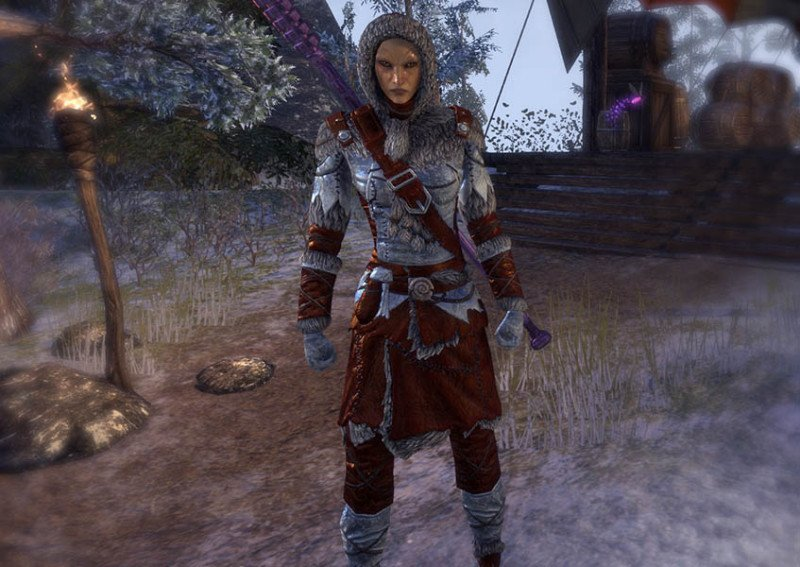 High Elf wearing Skaal Explorer Outfit during the New Life Festival in ESO