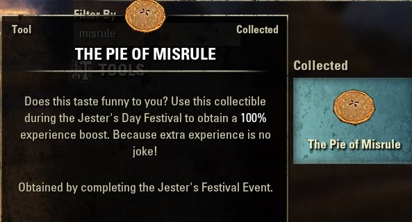 Pie of Misrule Jester's Event ESO