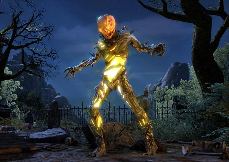 Pumpkin Spectre Polymorph Witches Festival ESO