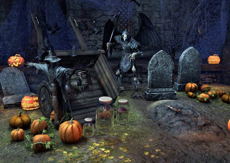 Furnishing Pack Witches Festival ESO