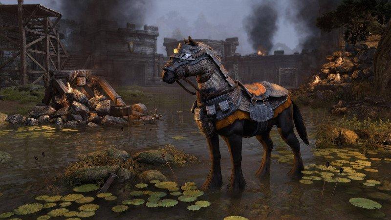Siegemaster's Warhorse Mount Midyear Mayhem ESO