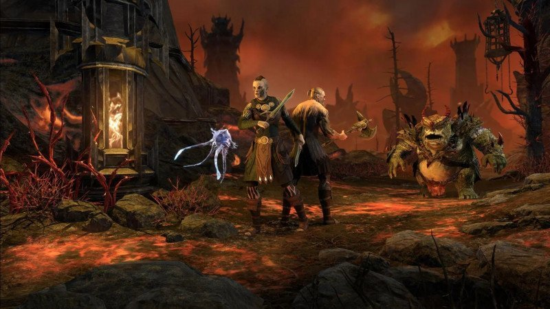 Fighting in the Deadlands during the Bounties of Blackwood event in ESO