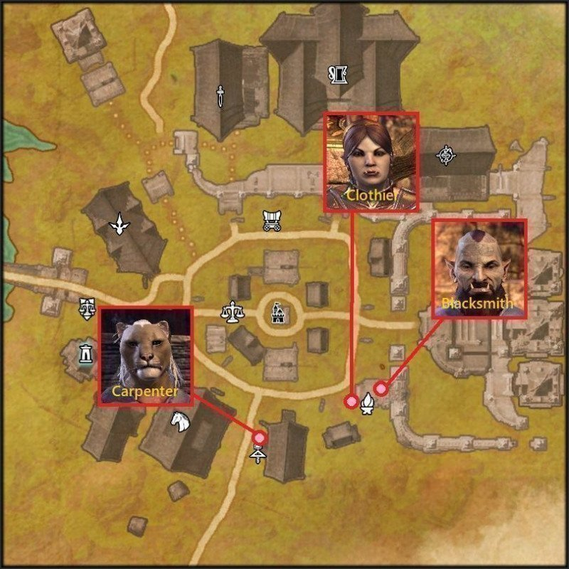 Rawl Kha Crafter Location Map New LIfe Festival
