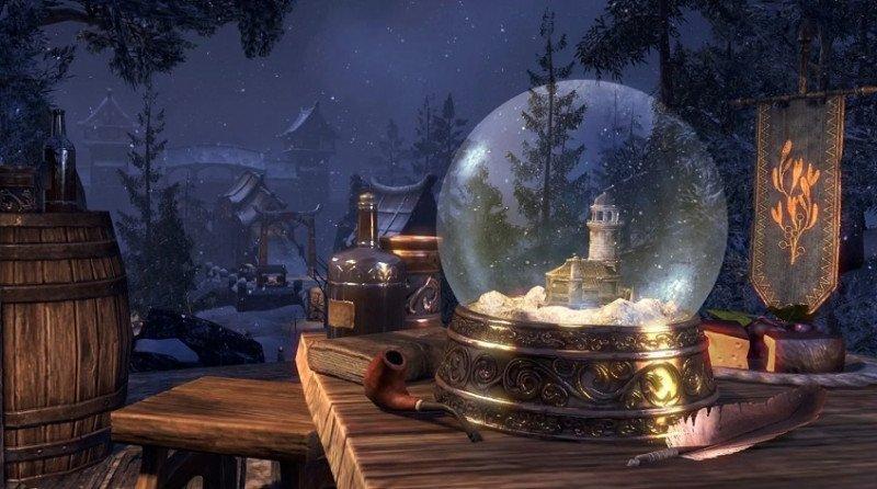 Enchanted Snow Globe House Image New Life Festival