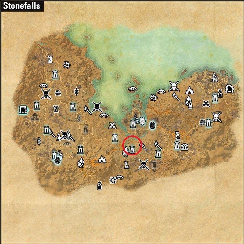 Jester's Festival Ebonheart Stonefalls Zone Location ESO