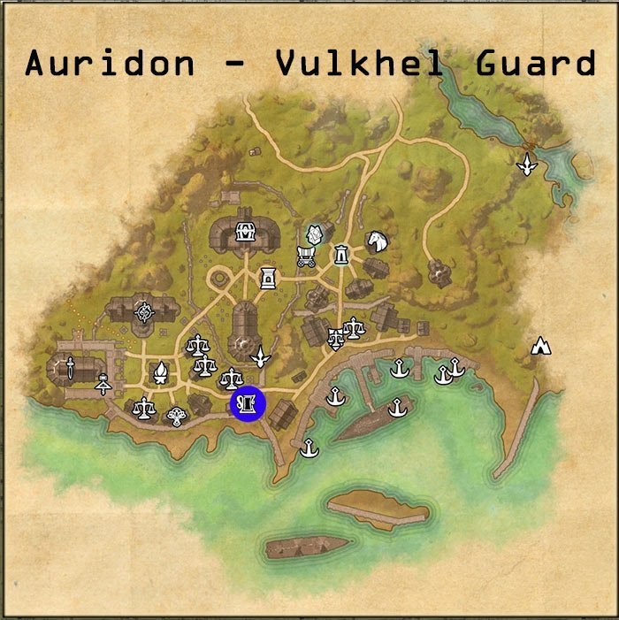 ESO Pledges Location for Aldmeri Dominion, Vulkhel Guard Town in Auridon