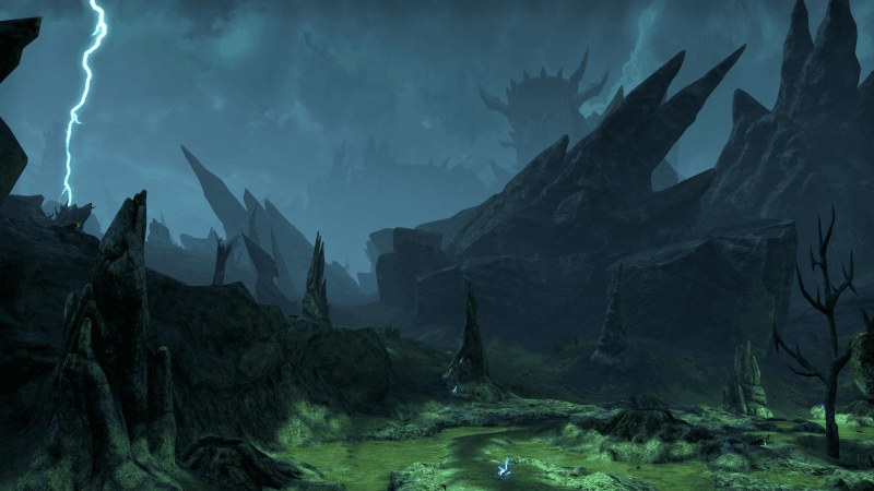 Deadlands DLC zone Screenshot