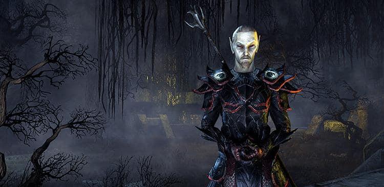 Divayth Fyr sorcerer in ESO
