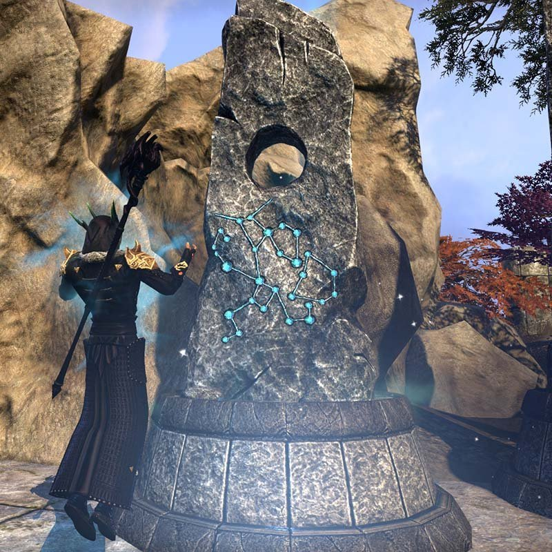 Activating a Mundus Stone in ESO