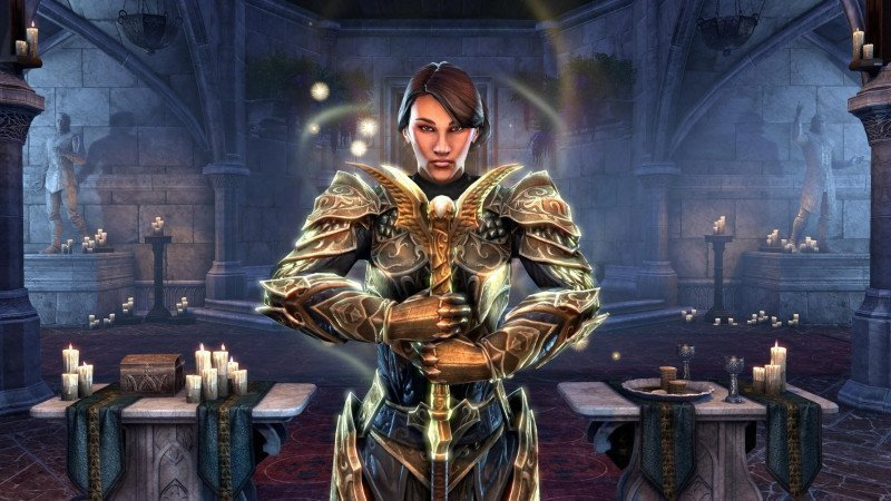 ESO Templar Class overview page