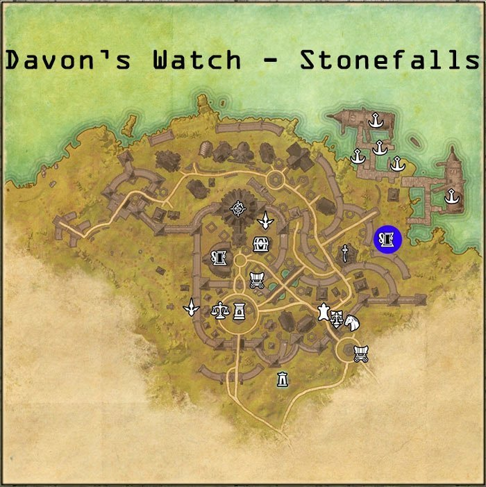 ESO Pledges Location for Ebonheart Pact Members, Davon's Watch Town in the Stonefall Zone