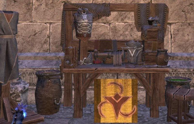 ESO Dye Outfit Station