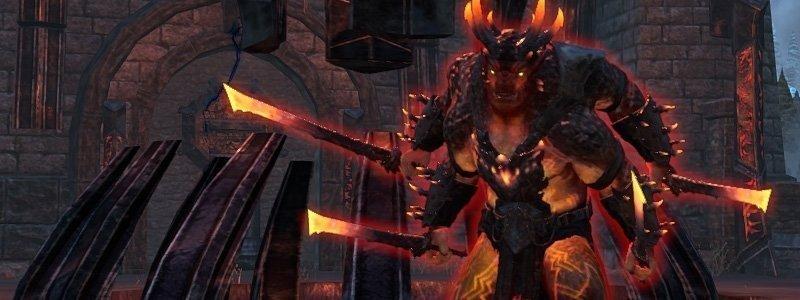 Magma Incarnate third boss in Dread Cellar dungeon ESO