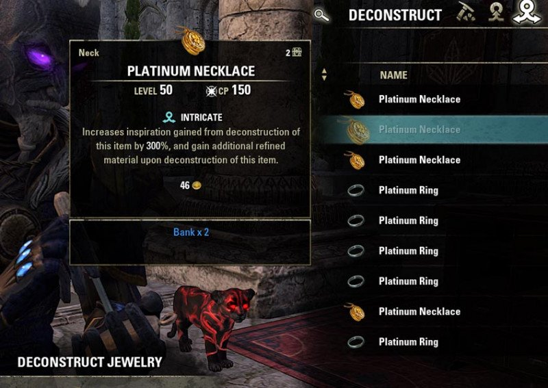 Deconstruct Intricate Trait Jewelry Crafting Guide ESO
