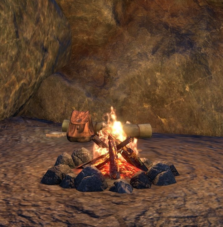 Sermons of Vivec 13 outside Karthag Point by the camp in ESO