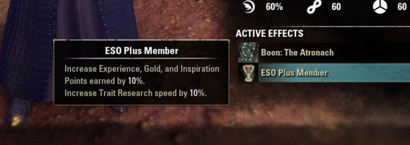 ESO Plus Inspiration Boost Jewelry Crafting Guide ESO
