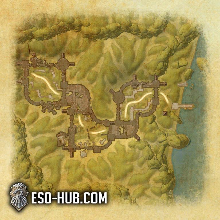 Dread Cellar Map 1