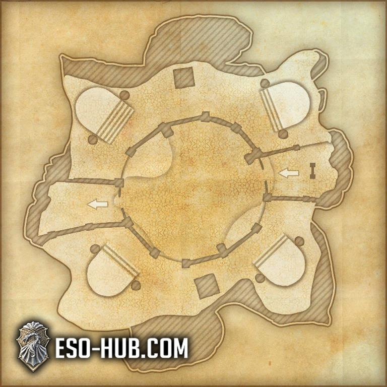 Dread Cellar Map 3