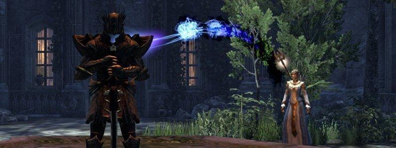 Norianwe summoning a sparring partner