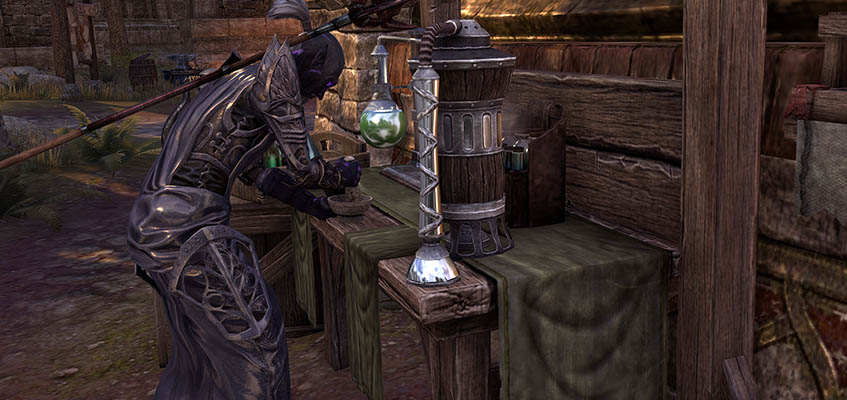 Alchemy Guide ESO Alchemist Table