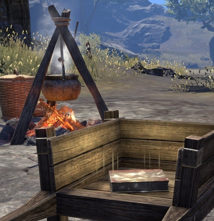 Sermons of Vivec 14 in the middle of the Falensarano Ruins in ESO