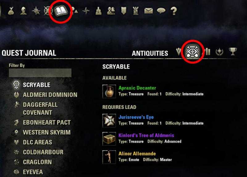 Antiquities System Overview