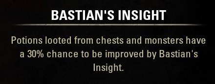 Bastian's Insight Talent and Skill