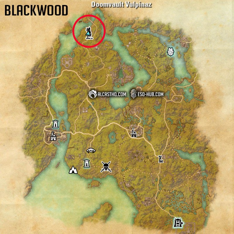 Where to find Mirri close to the Doombault Vulpinaz in Blackwood