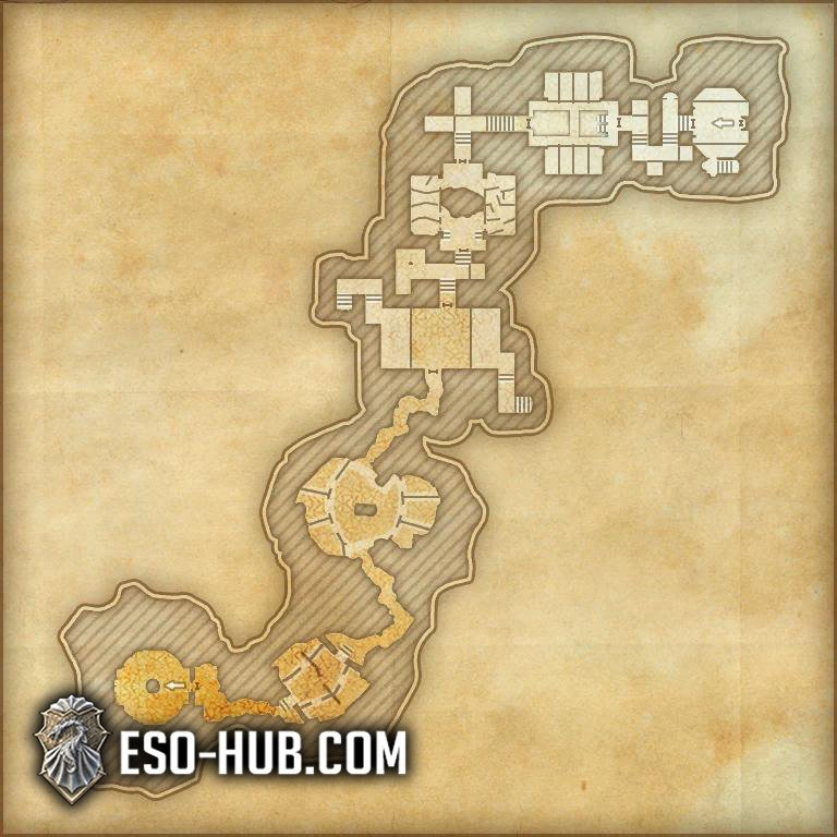 Dread Cellar Map 2