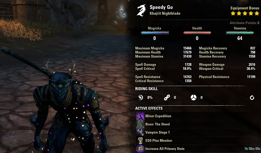 Flower Farming Build Example Alchemy Guide ESO