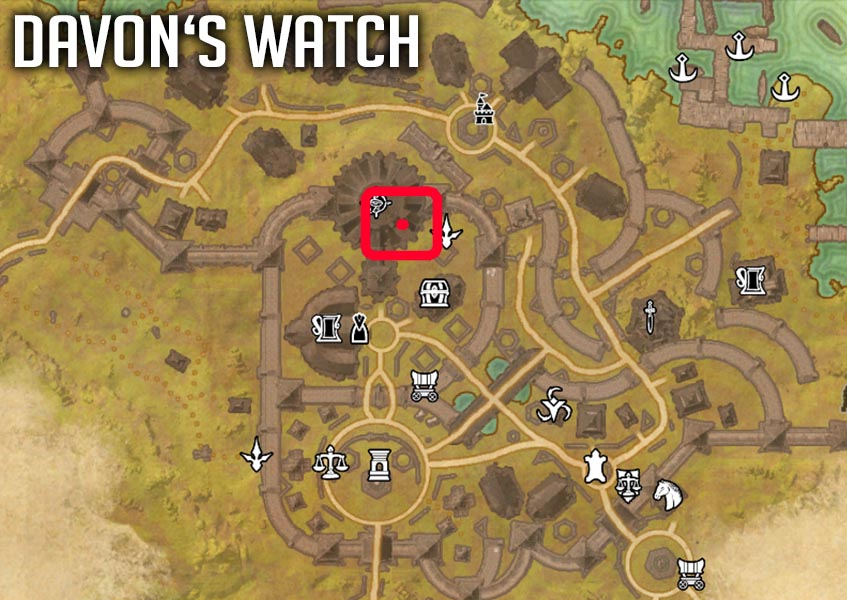 Davons Watch Location Enchanting Certification ESO