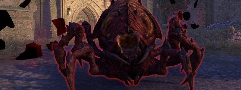 Scorion Broodlord boss in Dread Cellar ESO