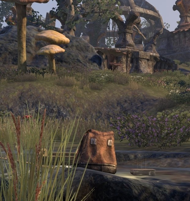 Sermons of Vivec 3 south of Ashalmawia by the lake in ESO