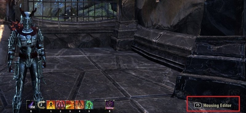 Activate the Housing Editor for the Armory System ESO
