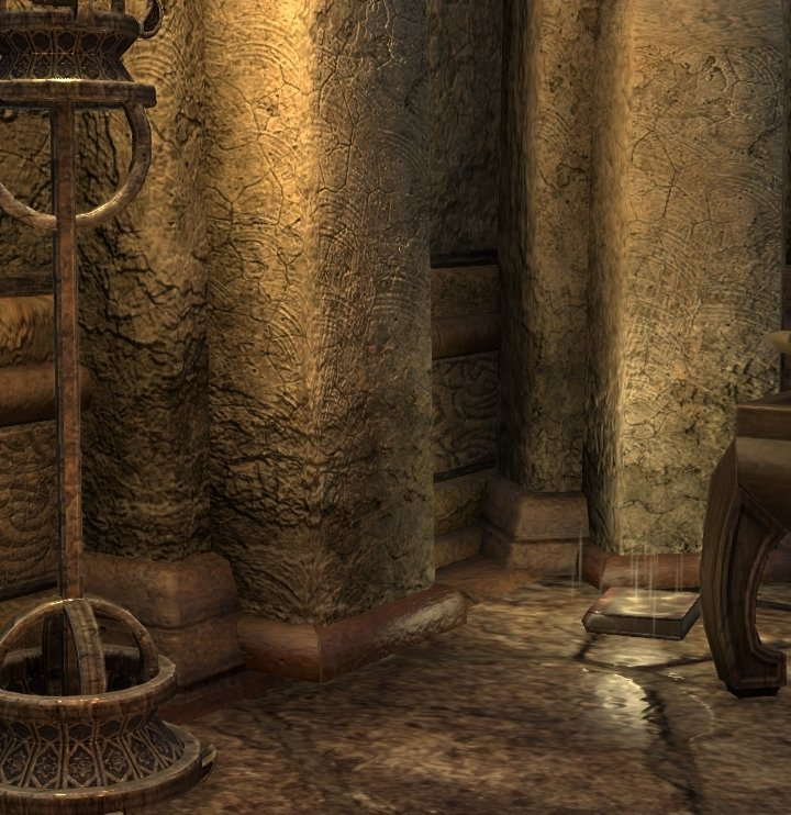 Sermons of Vivec 21 inside the Fishing Lodge at the Amaya Lake in ESO
