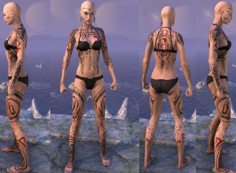 Shattered Chivalry Tattoo in ESO