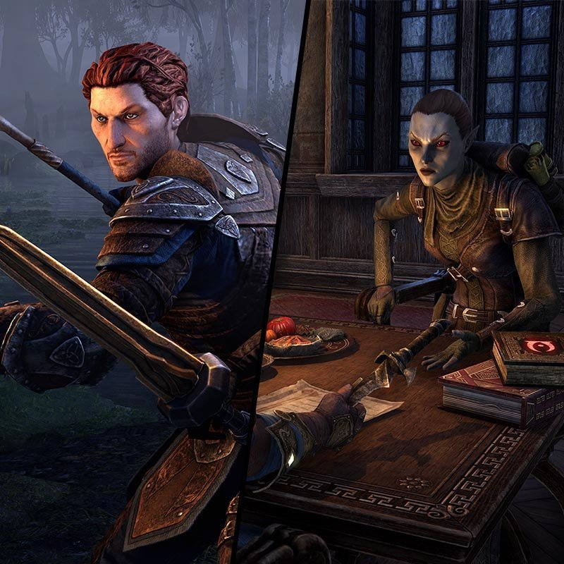 Bastian and Mirri Companion System ESO Blackwood Chapter