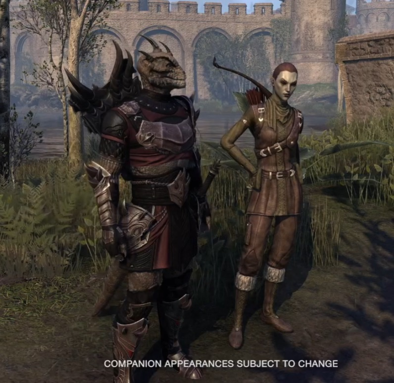 Companion Showcase Blackwood Chapter ESO