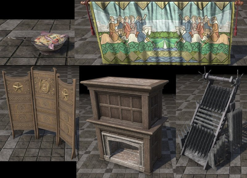 New furnishings with Waking Flame DLC