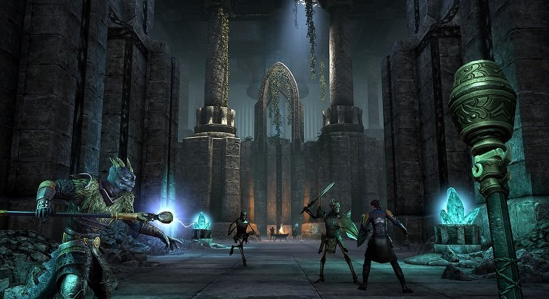 Veyond Combat Ruins Blackwood Chapter ESO