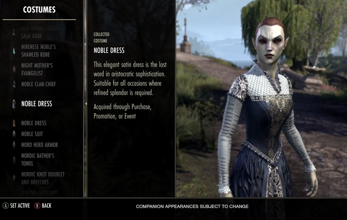 Companion Costume ESO