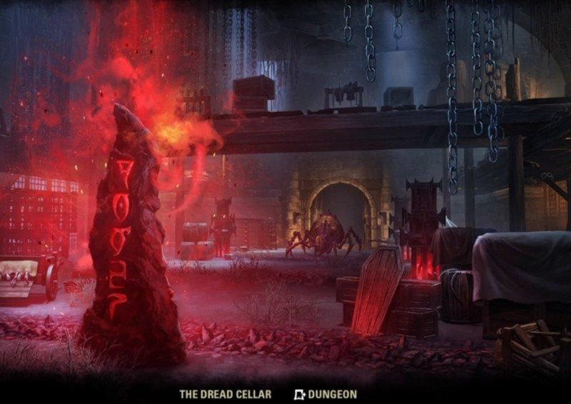 The Dread Cellar Loading Screen ESO