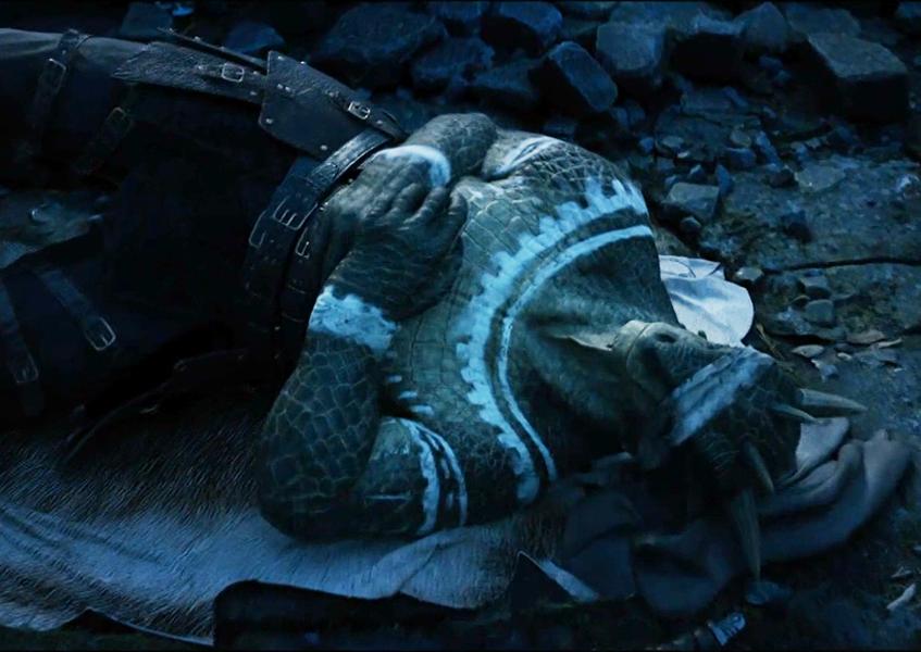 Argonian Taking a Nap in the Gates of Oblivion Teaser Trailer