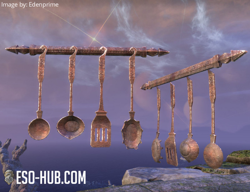 Dwarven Cooking Implements, Hanging
